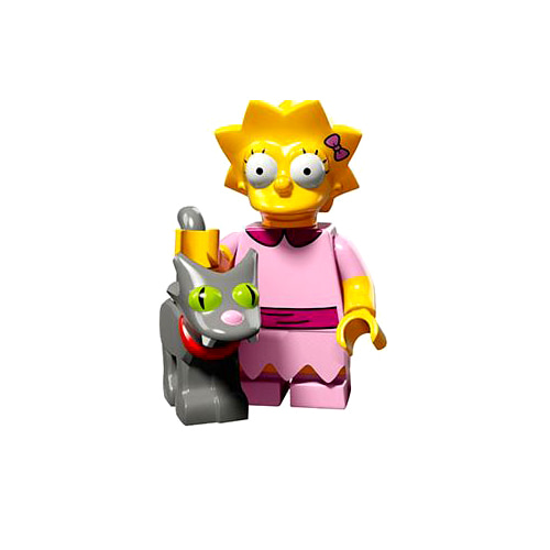 레고 피규어 심슨 2탄 리사 심슨 Lisa with Snowball II, The Simpsons, Series 2 71009